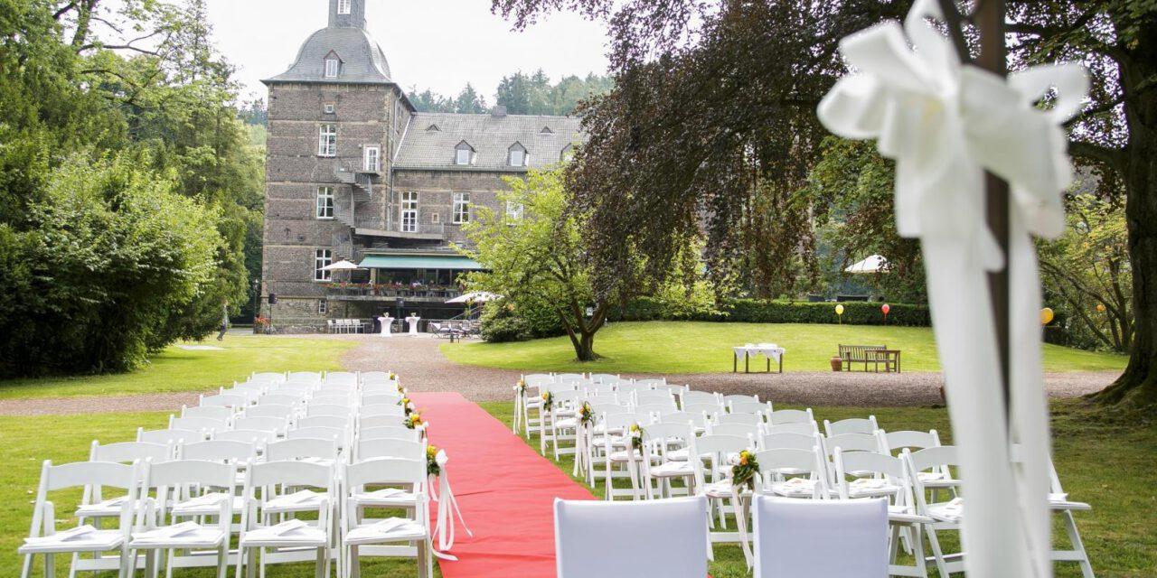 Heiraten auf Schloss Hugenpoet